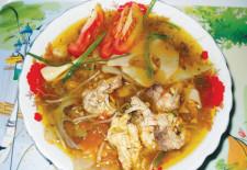 Tuyệt chiêu nấu canh chua cá nhám ngon ngất ngây