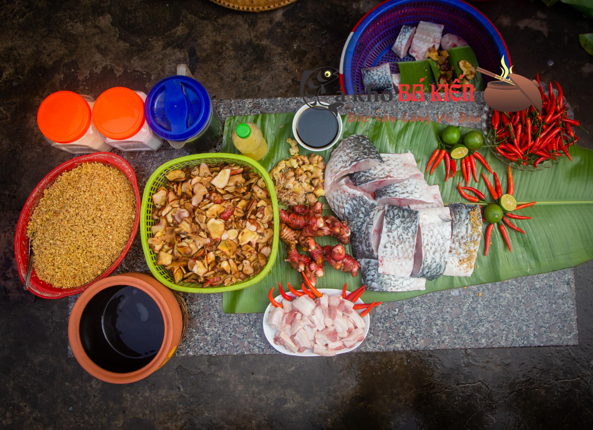 16 loại gia vị có trong món cá kho cổ truyền của làng vũ Đại