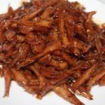 Cách làm món Cá cơm kho đường thốt nốt
