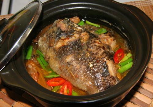 Cá rô kho thịt ba chỉ thơm ngon tròn vị