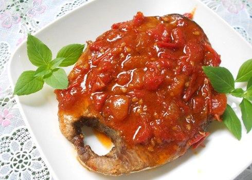 Cá ngừ kho cà chua cực ngon