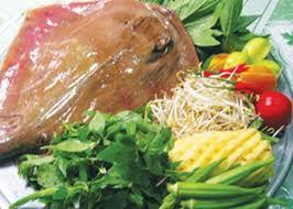 Nguyên liệu làm món canh chua cá đuối