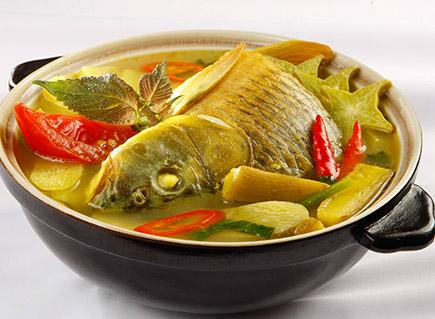 Cá chép nấu bung cực ngon