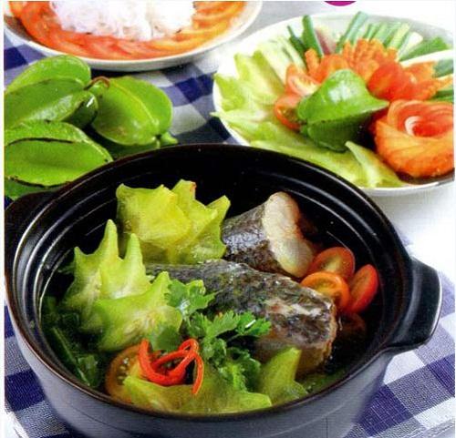 Canh cá lóc nấu khế