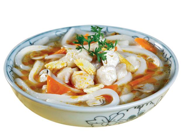 Thanh nhiệt, ngon cơm với canh cá viên rau cần