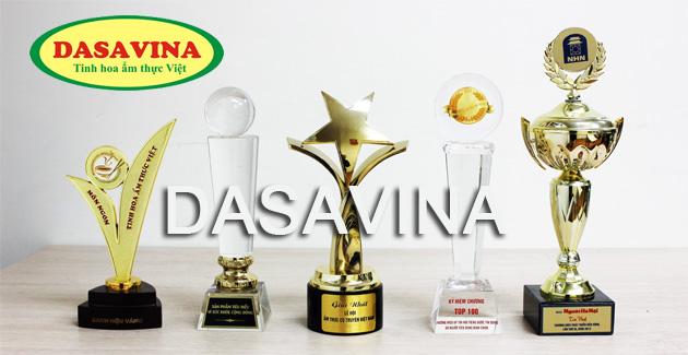 Danh hiệu, cup, giải thưởng và chứng nhận cho món cá kho làng Vũ Đại thương hiệu DASAVINA