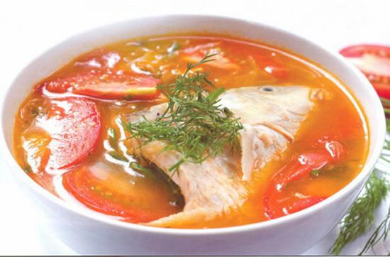 Canh cá chép nấu riêu ngọt thanh hấp dẫn
