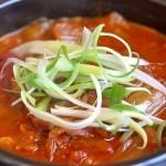 Cách làm canh kim chi cá ngừ ngon nóng hổi kiểu Hàn